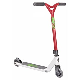 Grit 2018 Atom Complete Scooter - White/Red