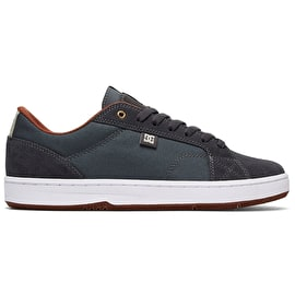 DC Astor Skate Shoes - Grey/White