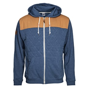 Santa Cruz Moss Hoodie - Denim/Heather