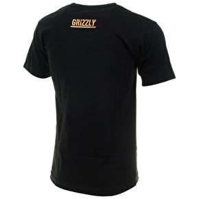 Grizzly Excellence T-Shirt - Black