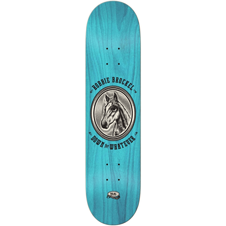 Real Brockel Horseglue Skateboard Deck - 8.25""