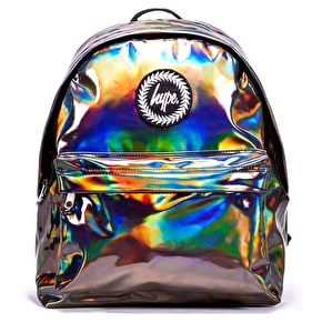 Hype Holographic Backpack - Coffee