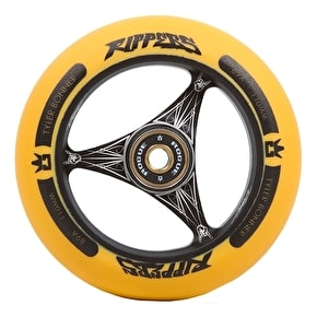 Rogue Ultrex 110mm TBONE Ripper Scooter Wheel - Black/Orange