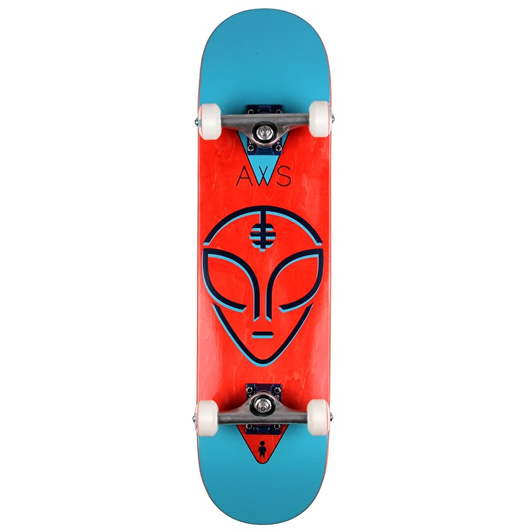Alien Workshop Watcher Complete Skateboard - Blue/Red 8""