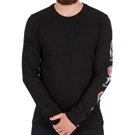 Nike SB Roses Long Sleeve T Shirt - Black/White