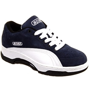 Soap Scab Grind Shoes - Navy/White