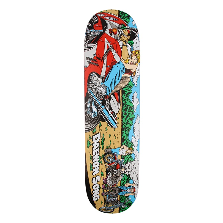 Almost Rice Burner Skateboard Deck 8.375""