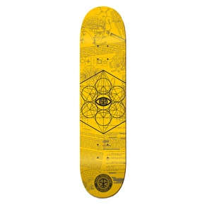 Karma Skateboard Deck - MK Ultra - Yellow - 8.25