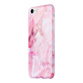 Aero Marble Gel iPhone Case - Pink