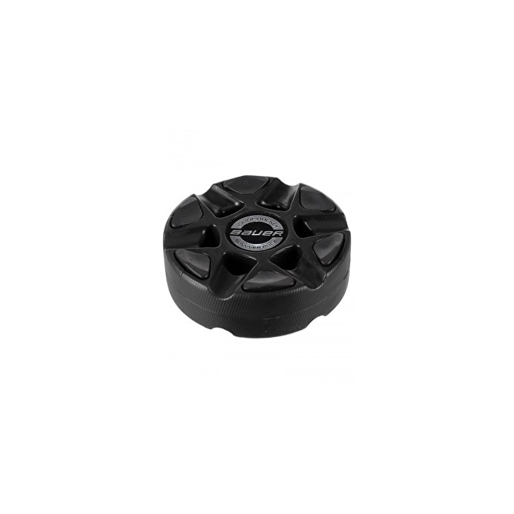 Bauer Silvver Roller Hockey Puck - Black