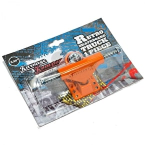 Karnage Retro Skateboard Truck - Orange (Single)