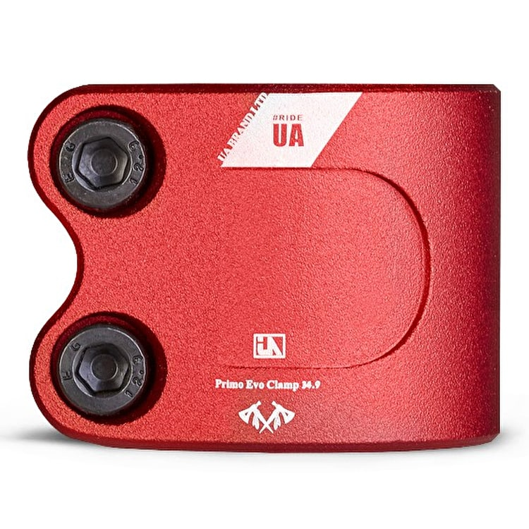 UrbanArtt Evo Double Collar Clamp - Red