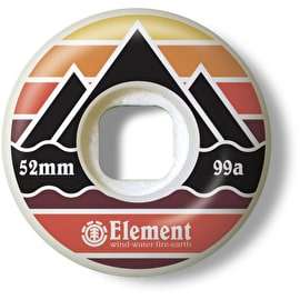 Element Layer 99A Skateboard Wheels - 52mm