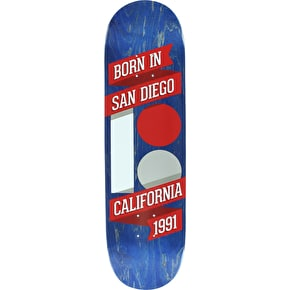 Plan B Team Born In SD Skateboard Deck - 8.375