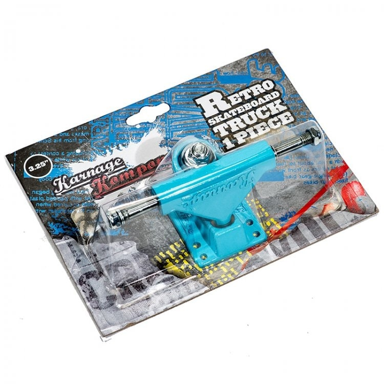Karnage Retro Skateboard Truck - Blue (Single)