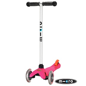 Mini Micro T-Bar Scooter - Bright Pink