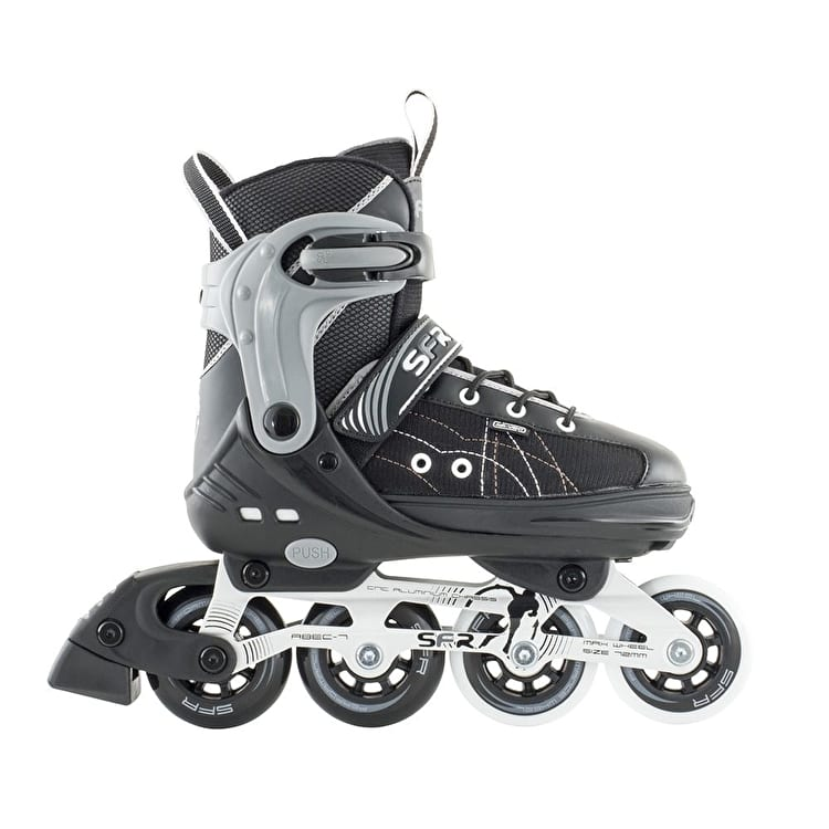 SFR RX-XT Adjustable Inline Skates - Black/Grey