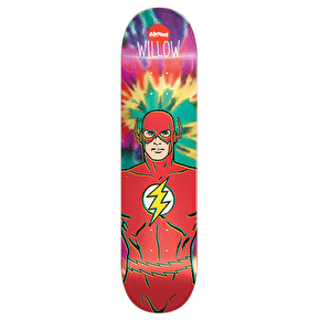 Almost The Flash Tie Dye R7 Skateboard Deck - Willow 8.38