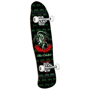 Powell Peralta Mini Skateboard - Cab Dragon II Green 8