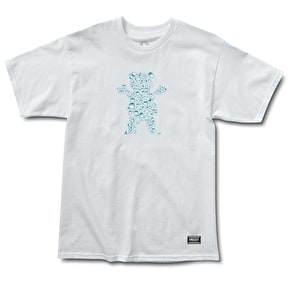 Grizzly Drops OG Bear T-Shirt - White