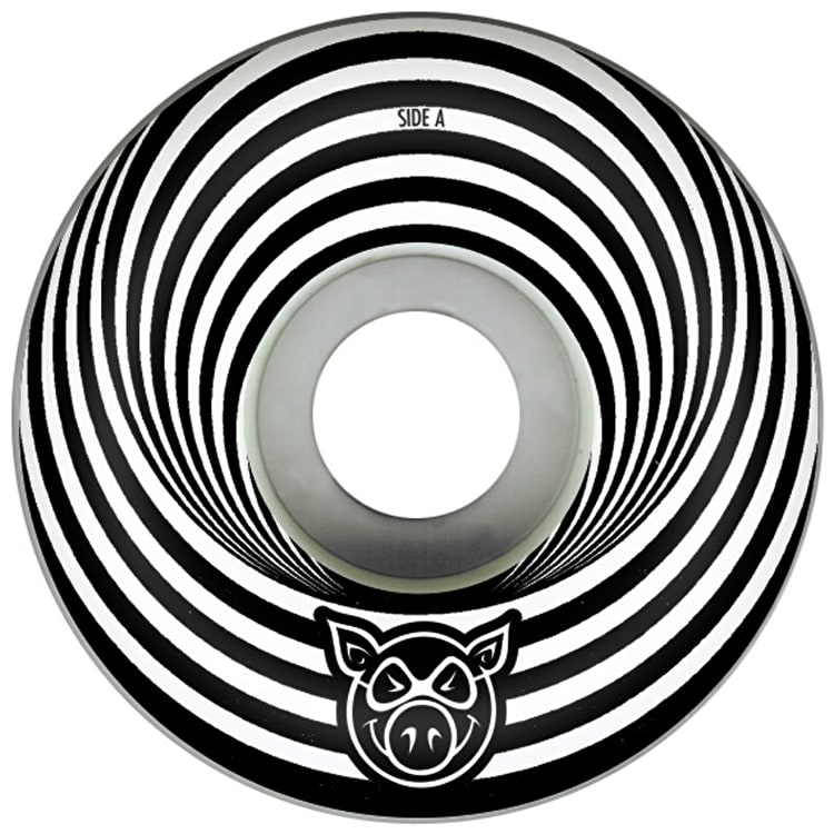 Pig Vertigo Skateboard Wheels - Black 52mm (Pack of 4)