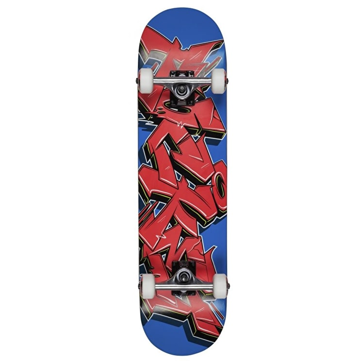 Rocket Skateboard - Graffiti Series Red/Blue 7.75""