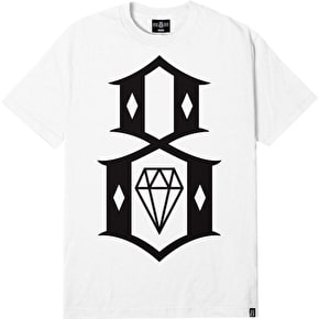 Rebel8 Logo T-Shirt - White