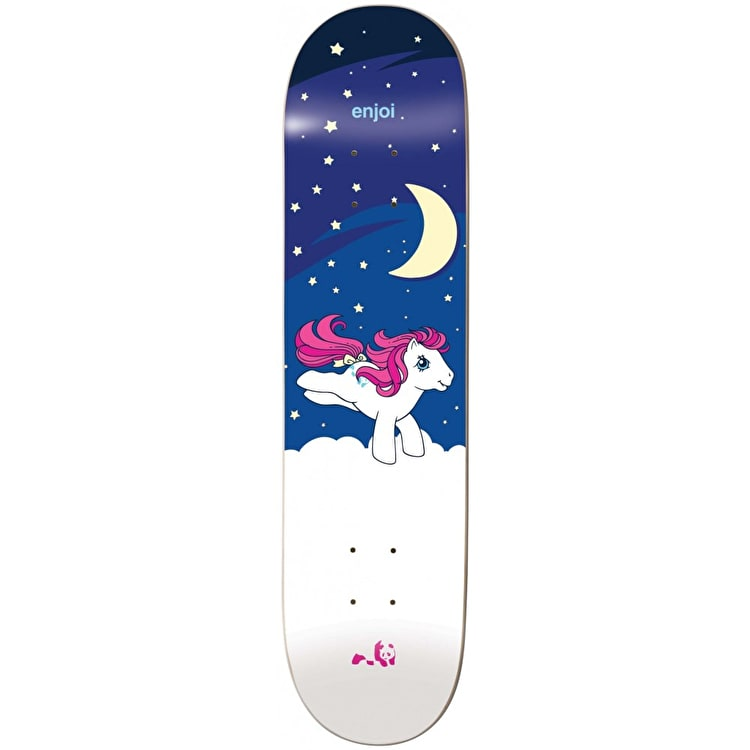 Enjoi MLP Night Time - Glow In The Dark Skateboard Deck 8""
