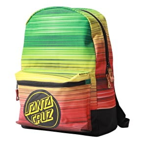 Santa Cruz Backpack - Rasta Fade Black