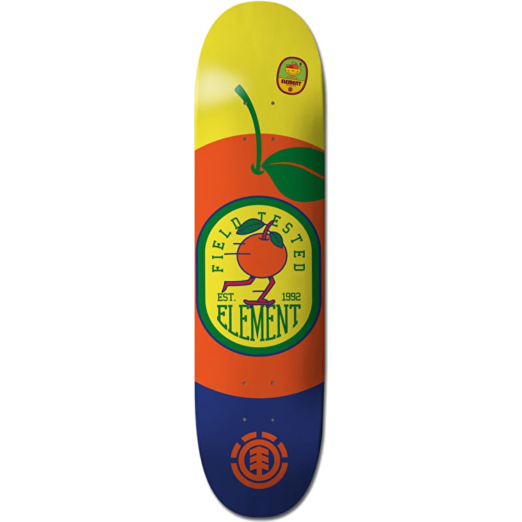 Element You Are What You Eat Skateboard Deck - Orange 8.0""