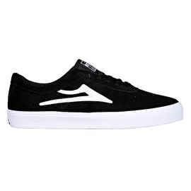 Lakai Sheffield Skate Shoes - Black Suede