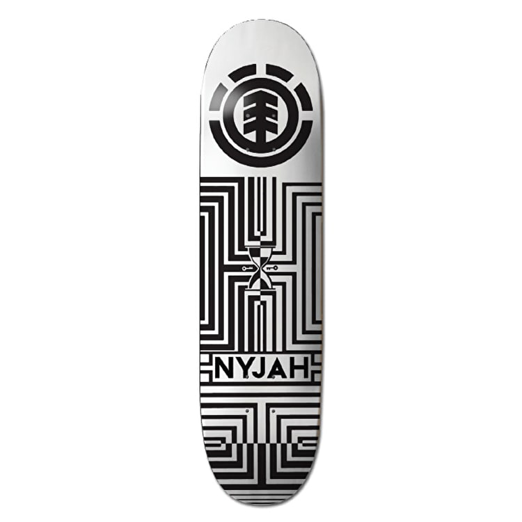 Element Skateboard Deck - Optical Helium Nyjah 8.25""