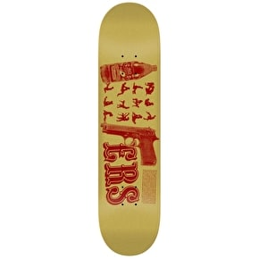 Anti Hero Skateboard Deck - 40 F'N 9ERS Trujillo Natural 8.18