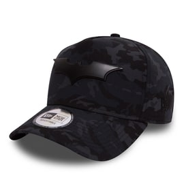 New Era Batman Camo Metal Hero Aframe Cap - Multi