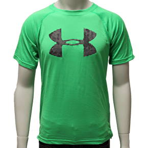 Under Armour Kids Tech Big Logo Tee - Green