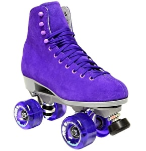 Sure-Grip Boardwalk Suede Quad Skates -Jasmine Purple