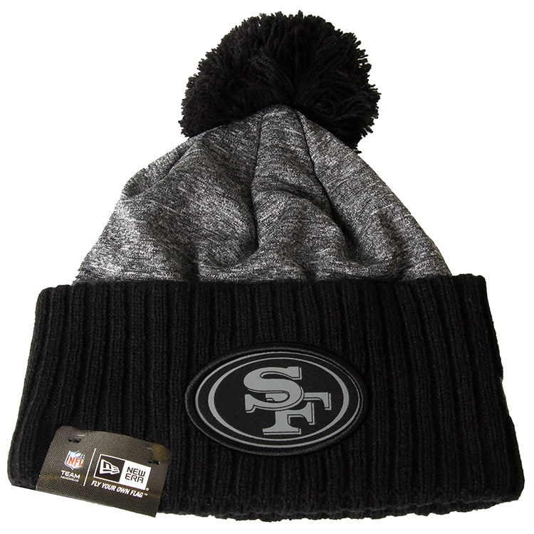 New Era NFL Grey Collection Beanie - San Francisco 49ers