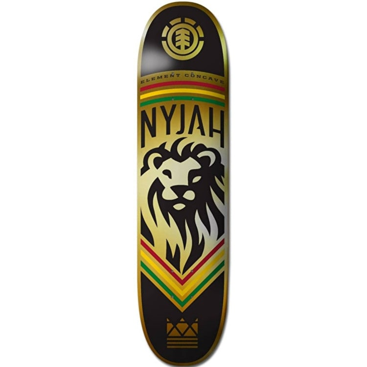 Element Nyjah Concave King Skateboard Deck - 8.125""