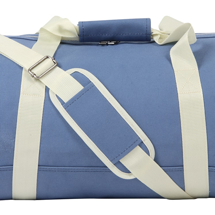 Mi-Pac Canvas Duffel Bag - Blue/Cream