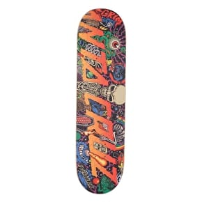Santa Cruz Pitchgrim Universe Everslick Skateboard Deck - Multi 8.375