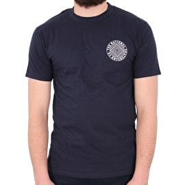 National Skateboard Co Union T shirt - Navy