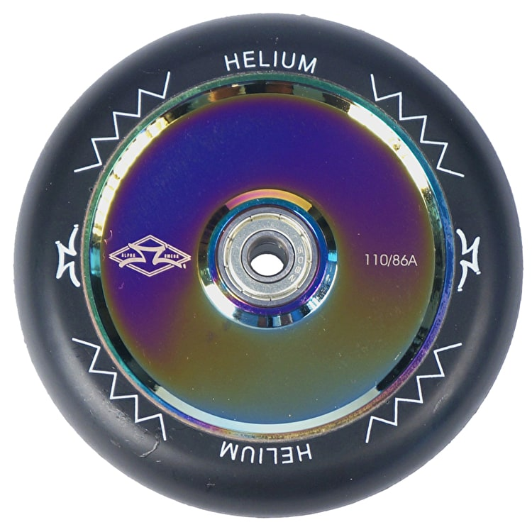 AO Helium 110mm Scooter Wheel - Neochrome