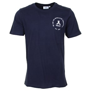 WeSC Icon Circle T-Shirt - Navy Blazer