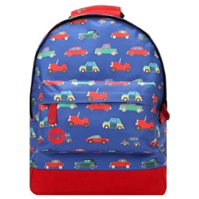 Mi-Pac Mini Cars Backpack - Blue Multi