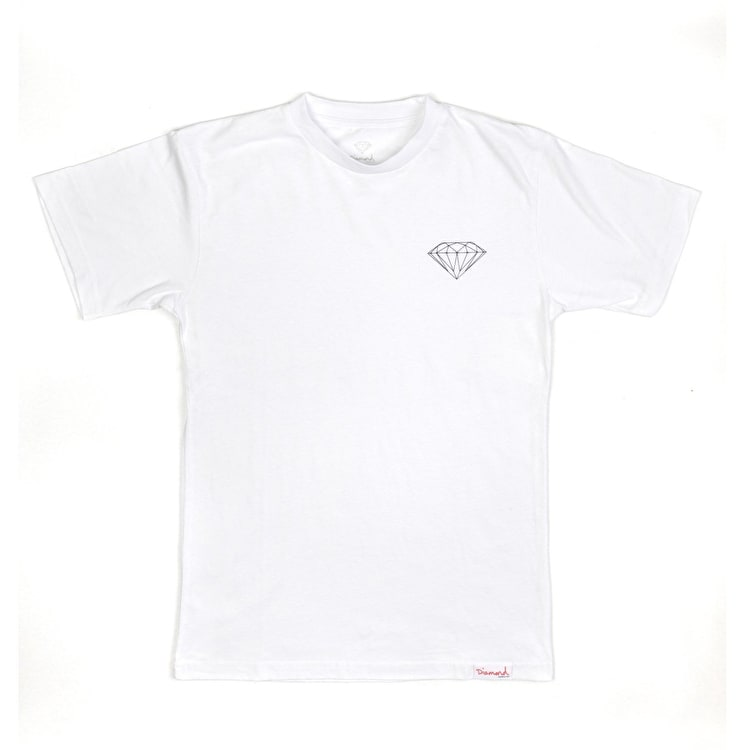 Diamond Supply Co Brilliant T Shirt - White