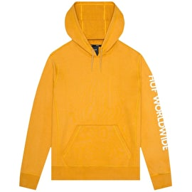Huf Mission Hoodie - Mineral Yellow