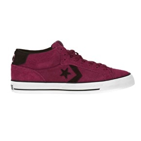 Converse Rune Pro II Mid Suede Shoes - Biking Red/Black