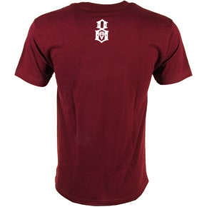Rebel8 Eighth Omen T-Shirt - Burgundy