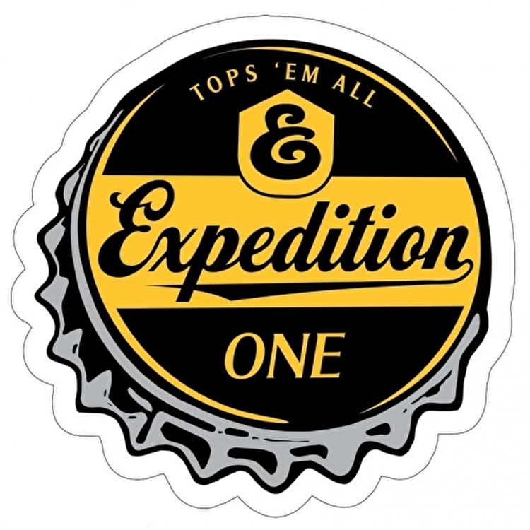 Expedition One Tops Sticker