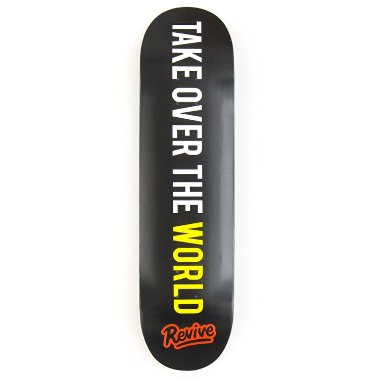 ReVive Take Over The World Unlimited Skateboard Deck